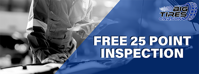 FREE 25 POINT INSPECTION