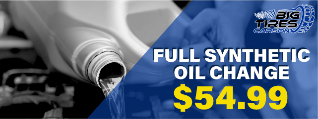 SYNTHETIC BLEND OIL CHANGE, only $54.99. *Please Note, Additional Fees may vary pending on vehicle.